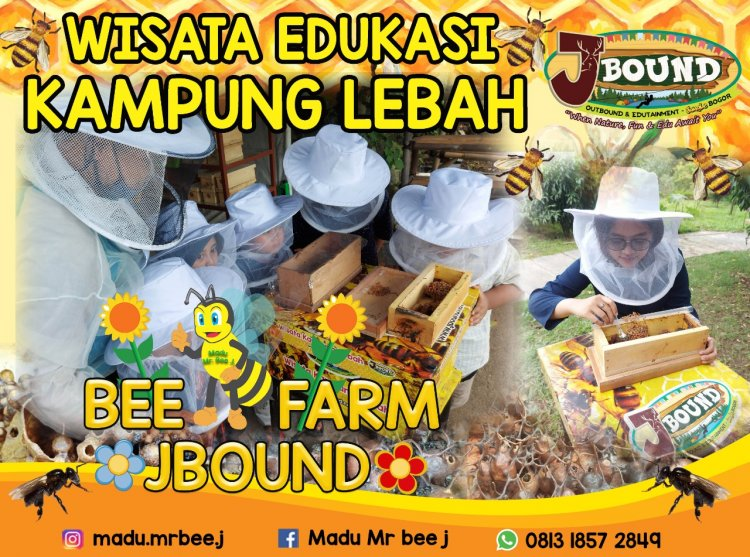 J BOUND Ciptakan wisata edukasi  kampung lebah Trigona (Urban Bee/Stingless Bee/lebah yang tidak bersengat)