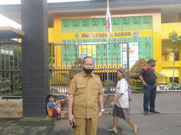 SMKN 3 Kota Bogor Bantah  lakukan penyeleksian pada profesi jurnalis