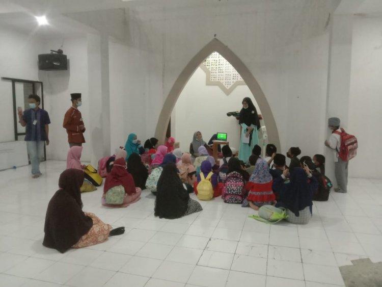 Musim Covid-19 Remaja Masjid Jami AL-Ikhlas 06 Tetap Adakan Sanlat Untuk Pemula.