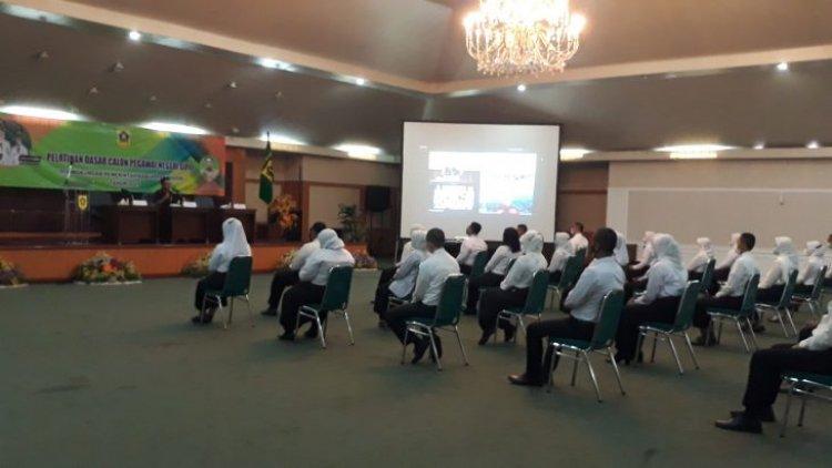 Badan Kepegawaian Pendidikan Dan Pelatihan ( BKPP ) Kab.Bogor Selenggarakan Kegiatan Pelatihan Dasar CPNS