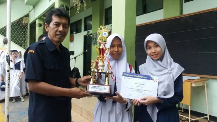 Lomba KRAR  SMP Kosgoro raih juara harapan tiga sejabodetabek dan  Banten