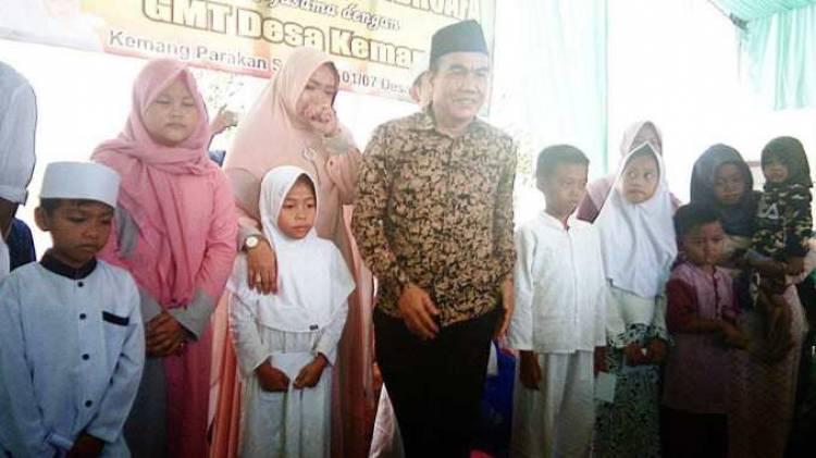 Plt Kades Kemang  Entang resmikan  Musholla Nurul Hasanah