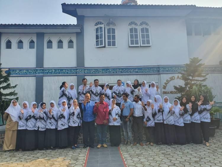 Sukarelawan AFS  Cultural  Program,  Menilik Budaya Indonesia di kampus SMAN 5 kota Bogor