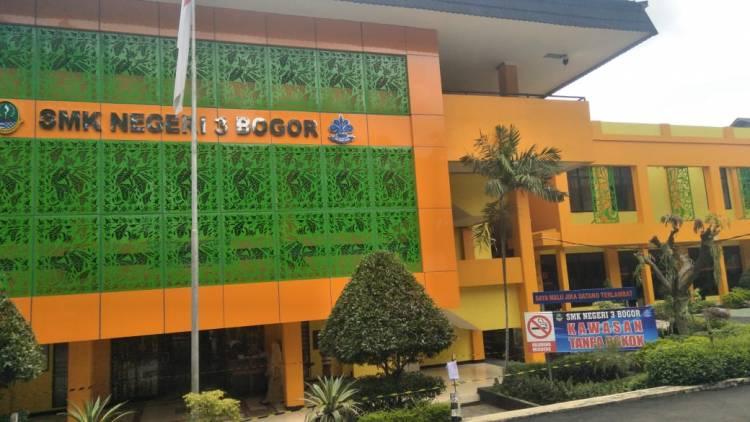 SMKN 3 kota Bogor di percantik  oleh Pemprov Jabar
