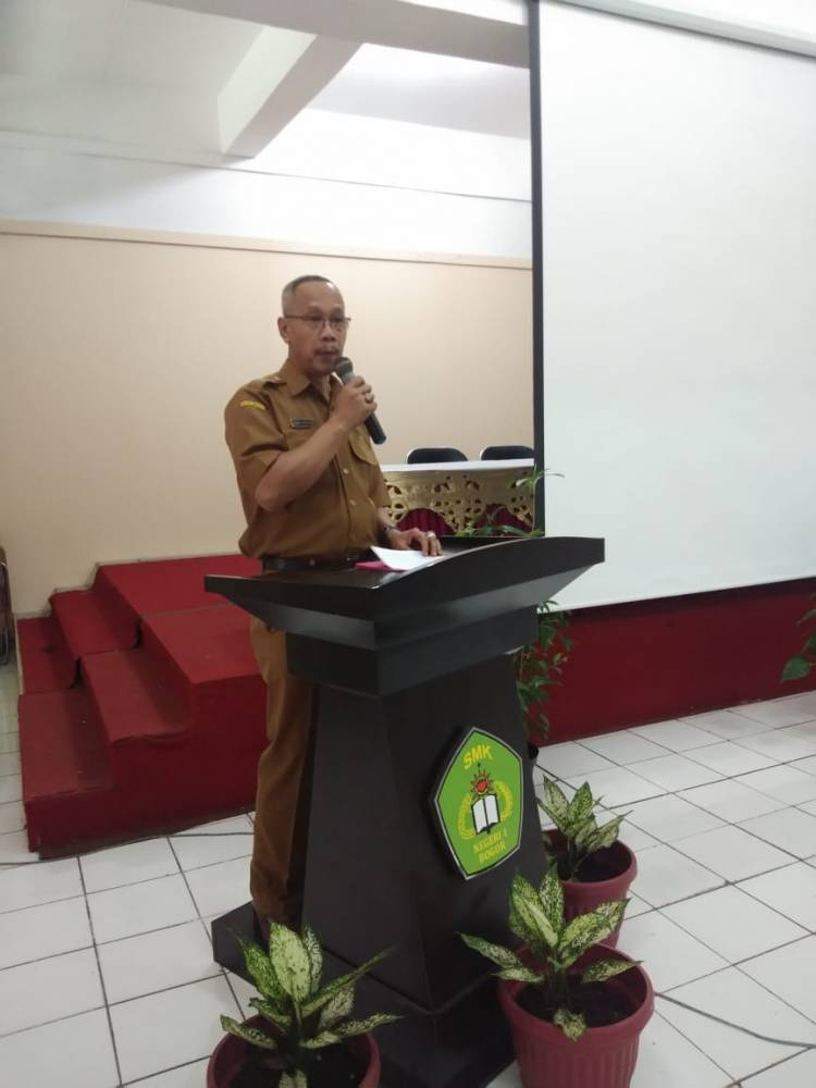 SMK Unggul Negeri 2 Sumsel  sambangi SMKN 1 kota Bogor
